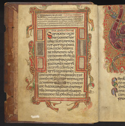 Introductory prayers, in a Psalter
